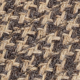 Colonial MIlls Natural Wool Houndstooth Rug