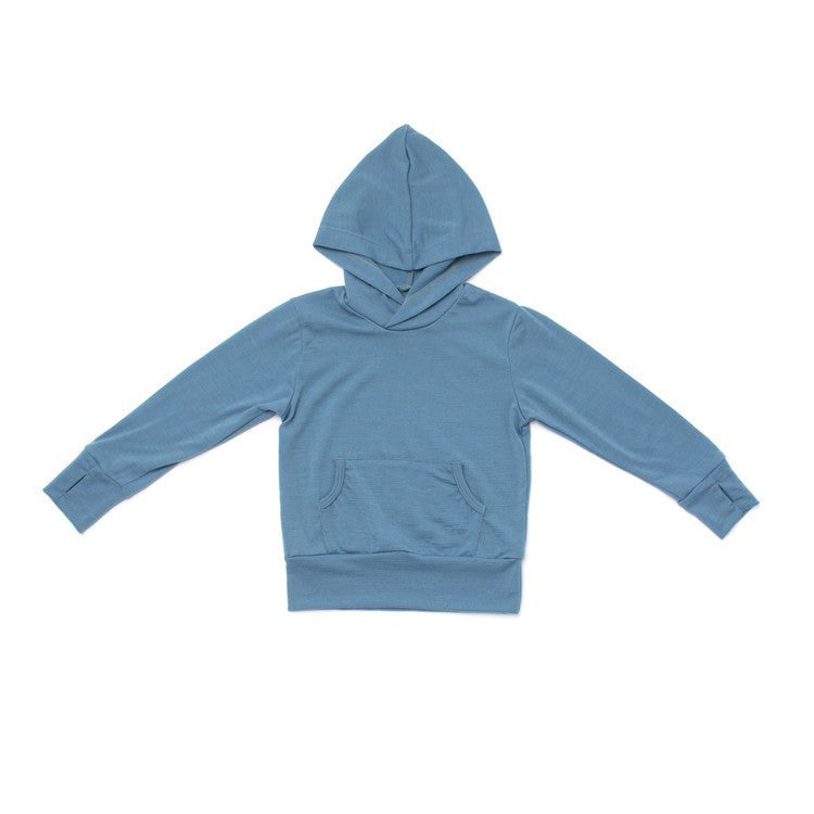 Merino Wool All Season Hoody - Soft Grey