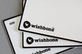 Wishbone Bike Nameplate