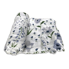 Little Unicorn Windflower Deluxe Swaddle Blanket