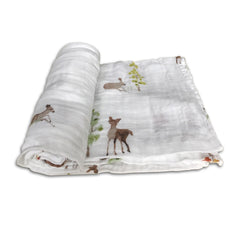 Little Unicorn Oh Deer Swaddle Blanket