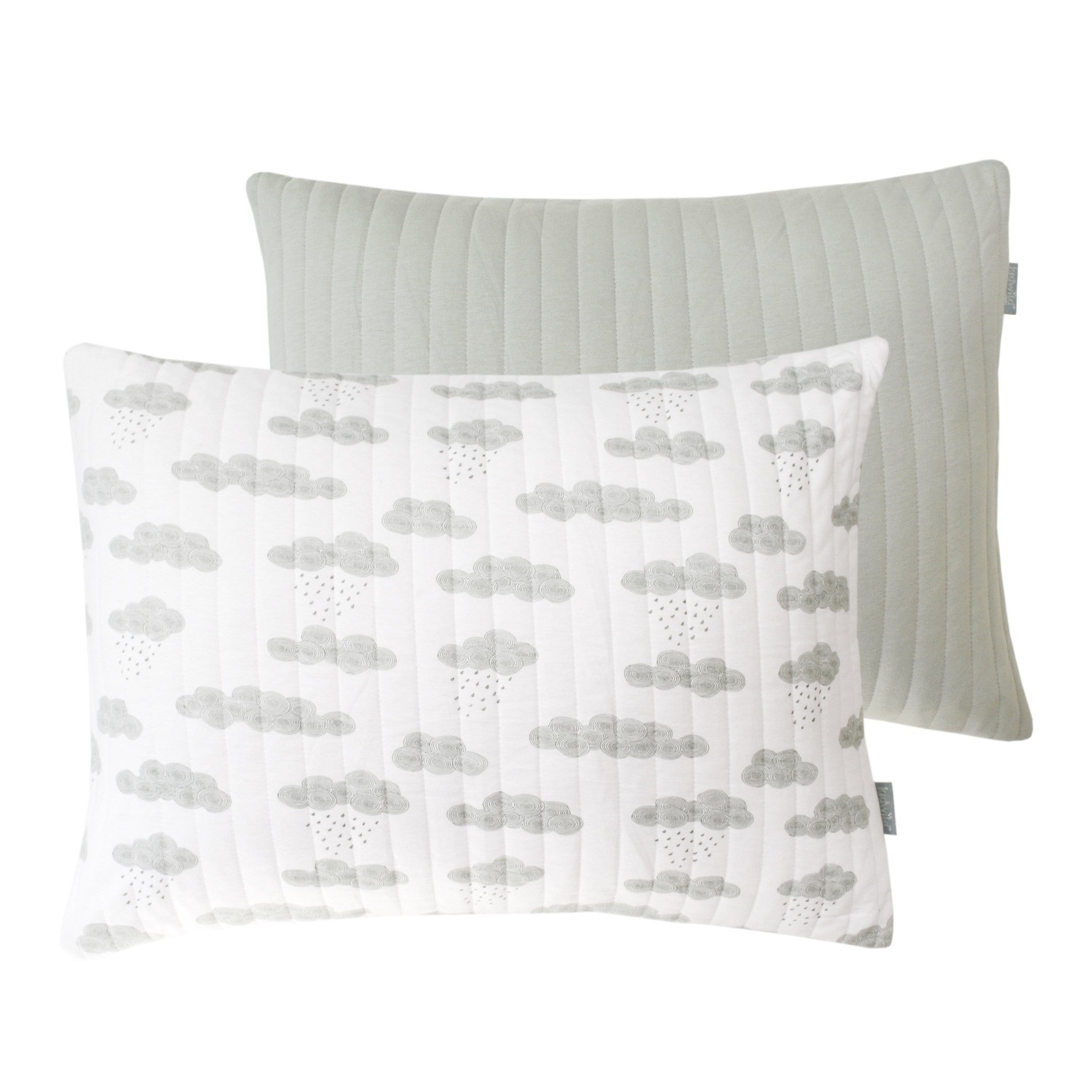 Kidwild Organic Kidwild Organic Quilted Shams - fawn&forest