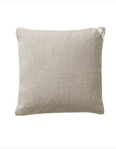 Fog Linen Linen Pillow Cover - Natural