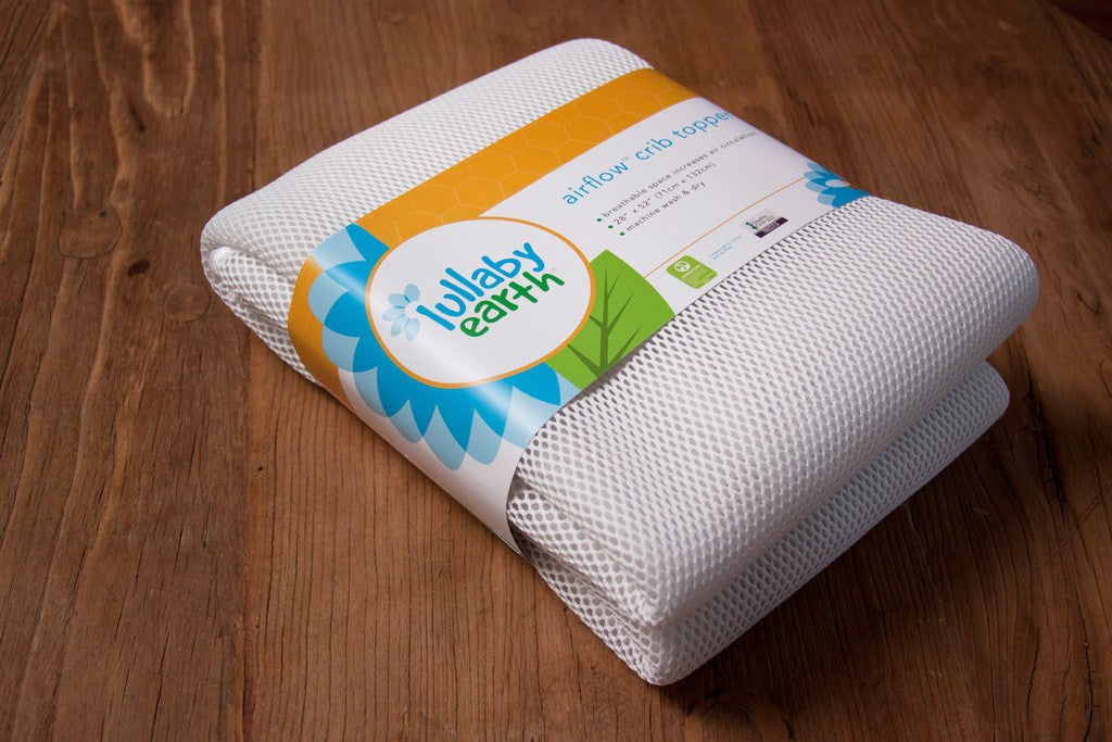 Lullabye Earth Airflow Crib Mattress Topper - fawn&forest