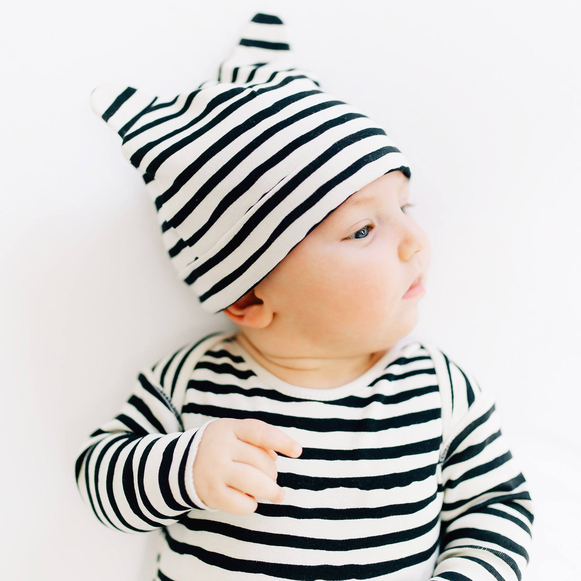 "Kidwild Organic ""Little Wild One"" Layette Gift Set - Stripes"
