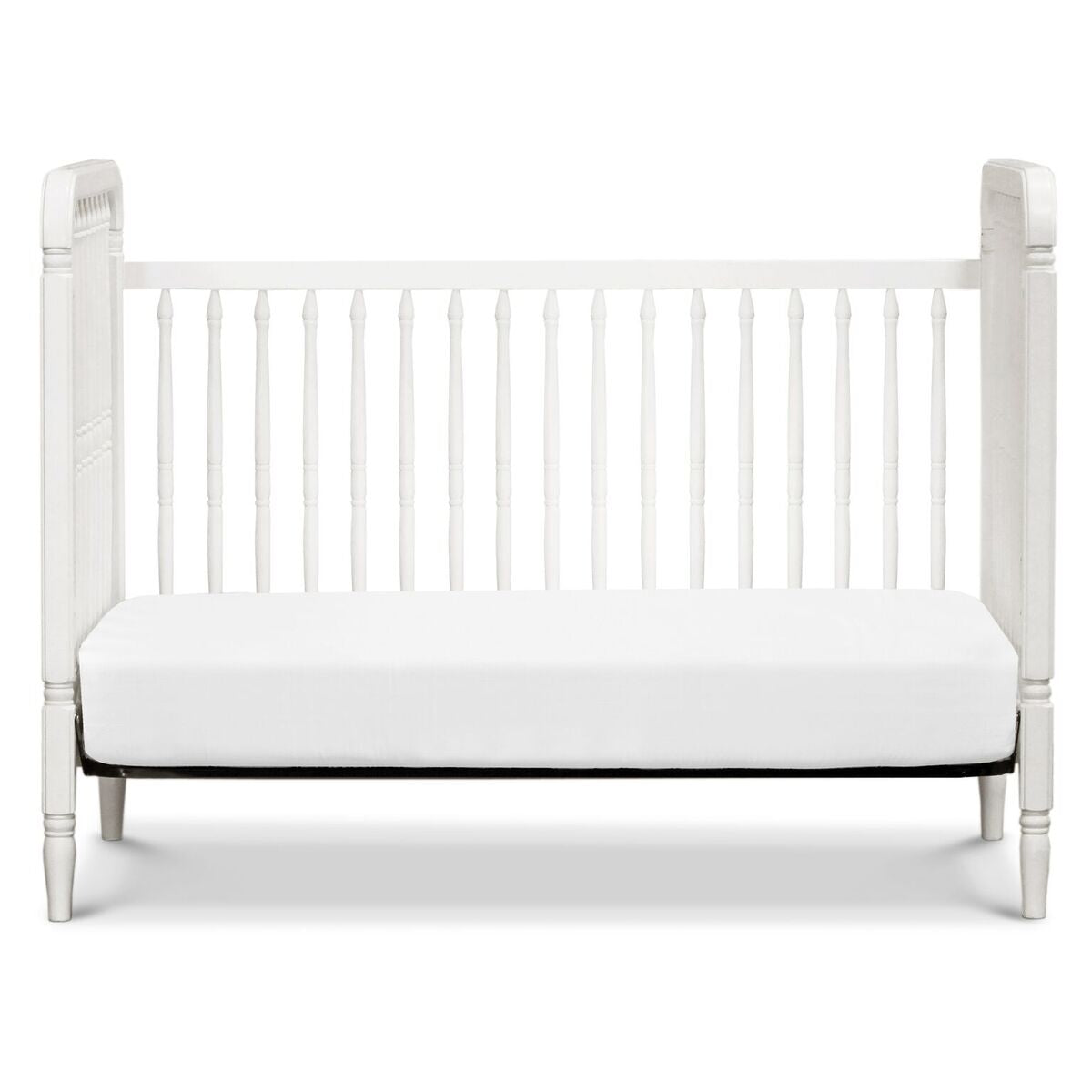 Million Dollar Baby Classic  Liberty 3-in-1 Convertible Spindle Crib with Toddler Bed Conversion Kit