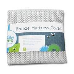 Lullabye Earth Breeze Airflow Crib Mattress Cover - fawn&forest
