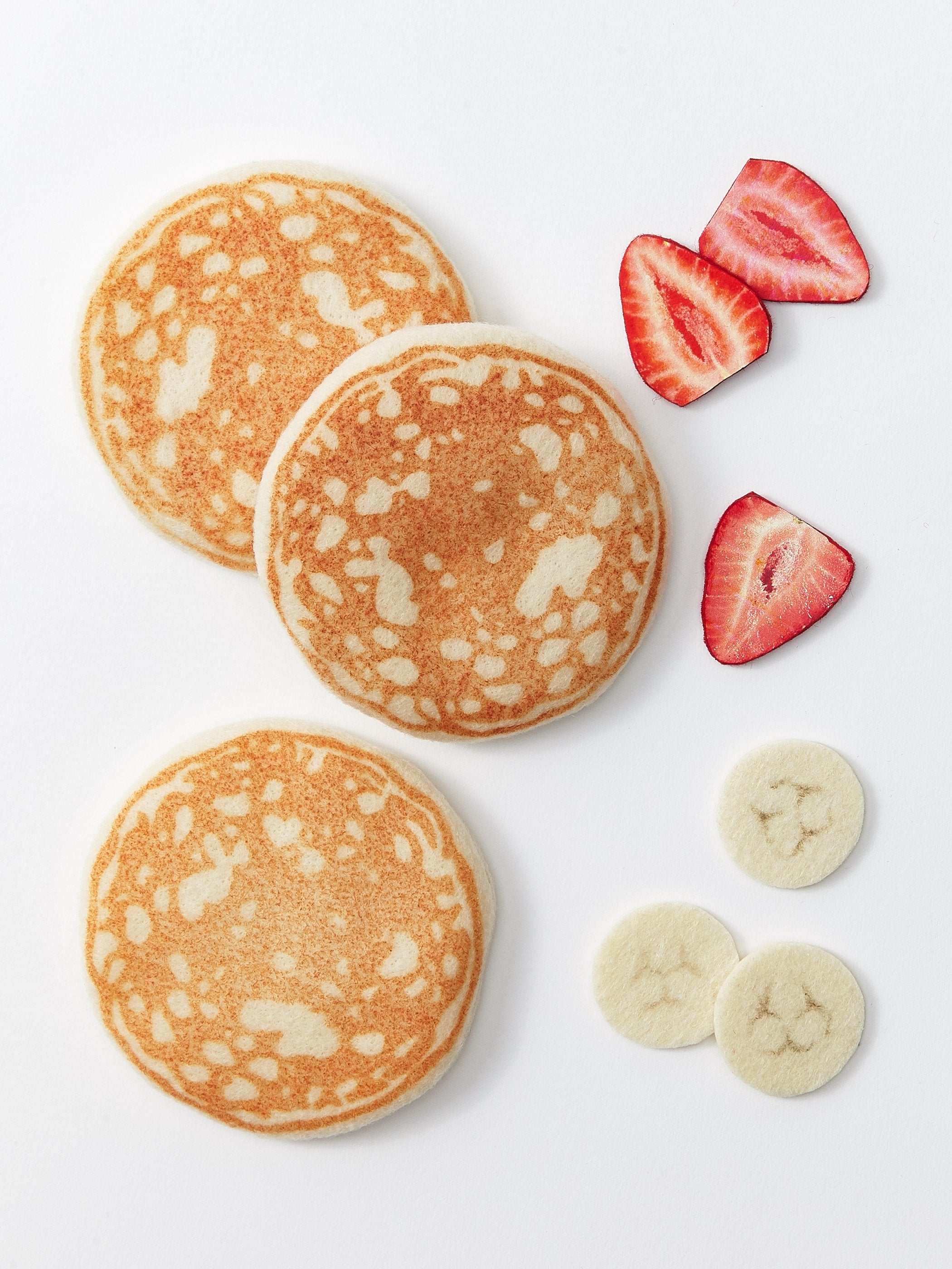 Milton & Goose Fluffy Pancakes Play Food Set