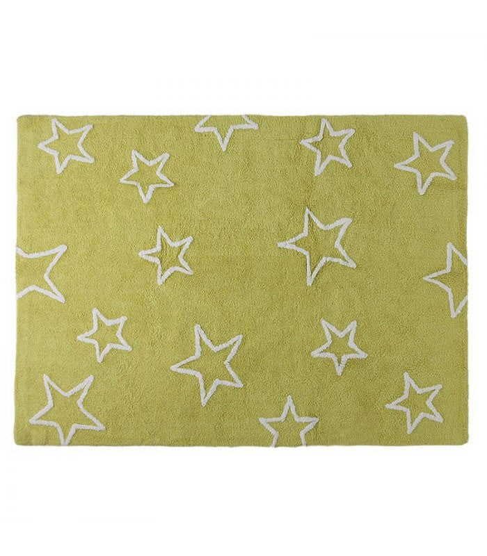 Lorena Canels Silhouette Stars Rug - fawn&forest
