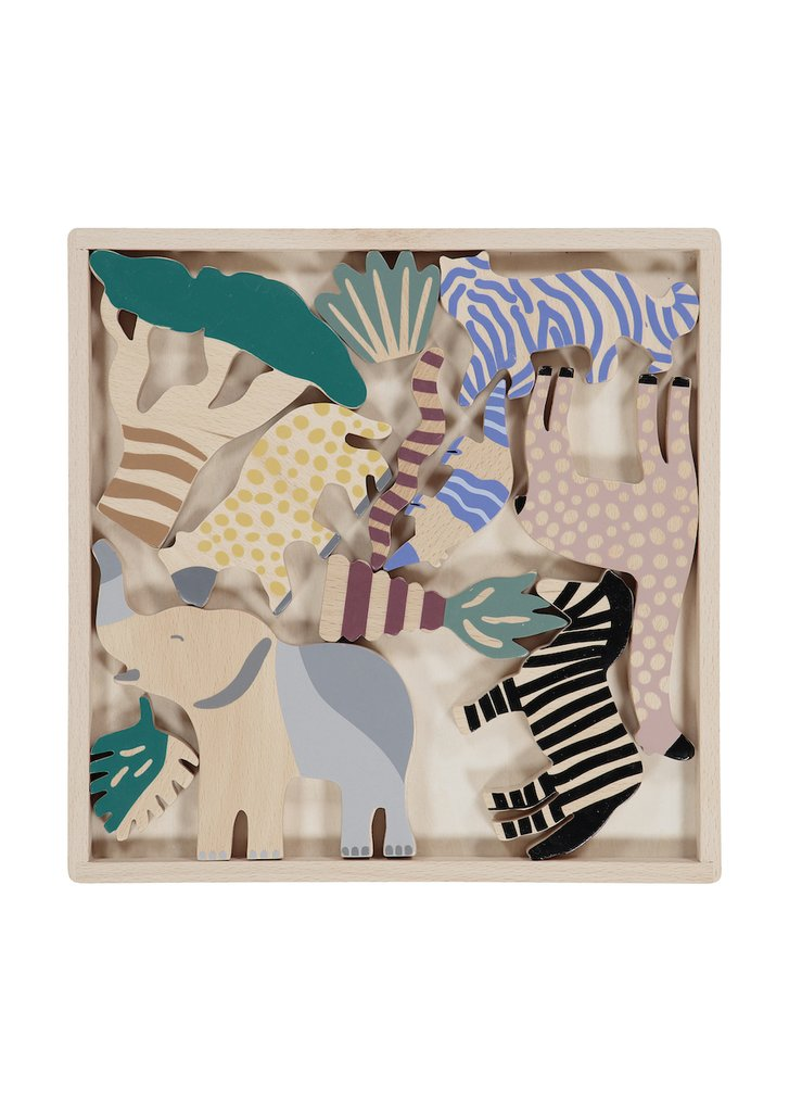 Ferm Living Kids Safari Animal Box