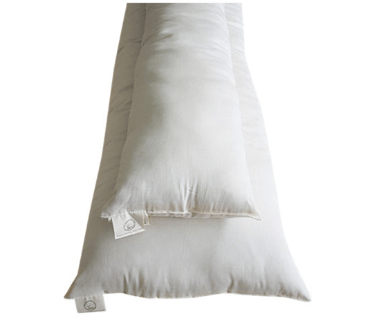 Holy Lamb Eco-Wool Organic Body Pillow - fawn&forest
