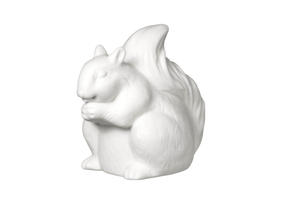 Porcelain Squirrel Nightlight