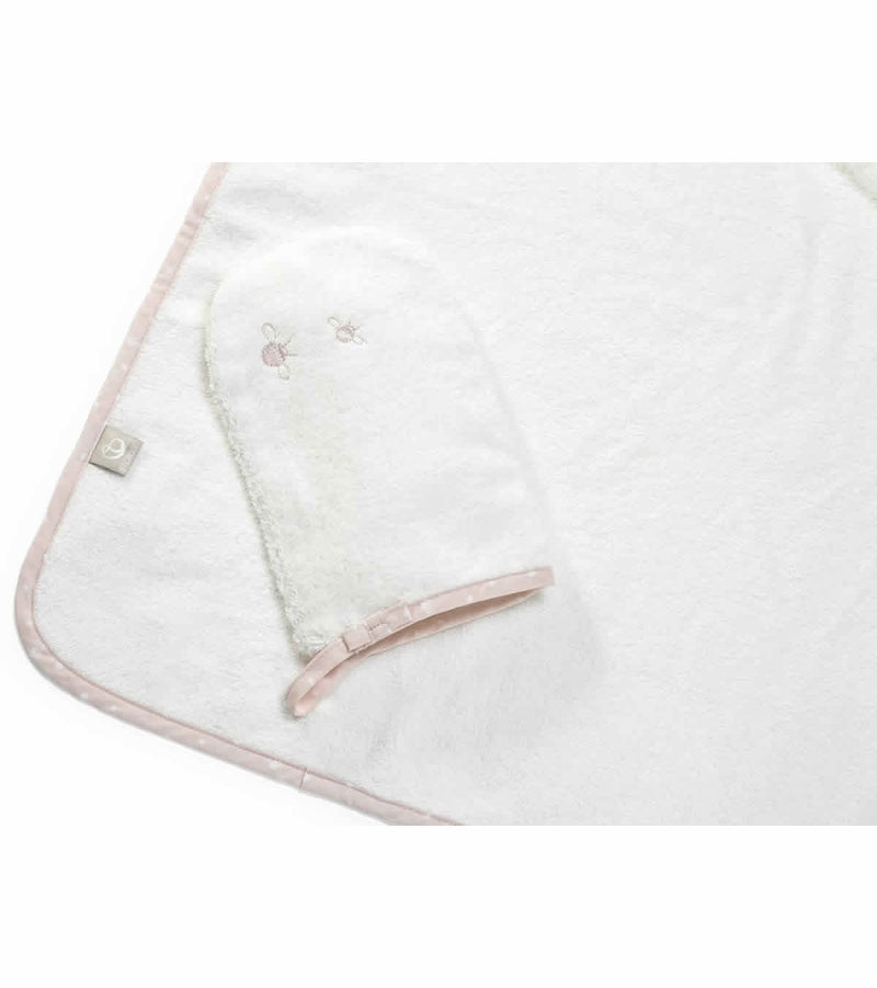 Stokke Hooded Towel - Pink Bee