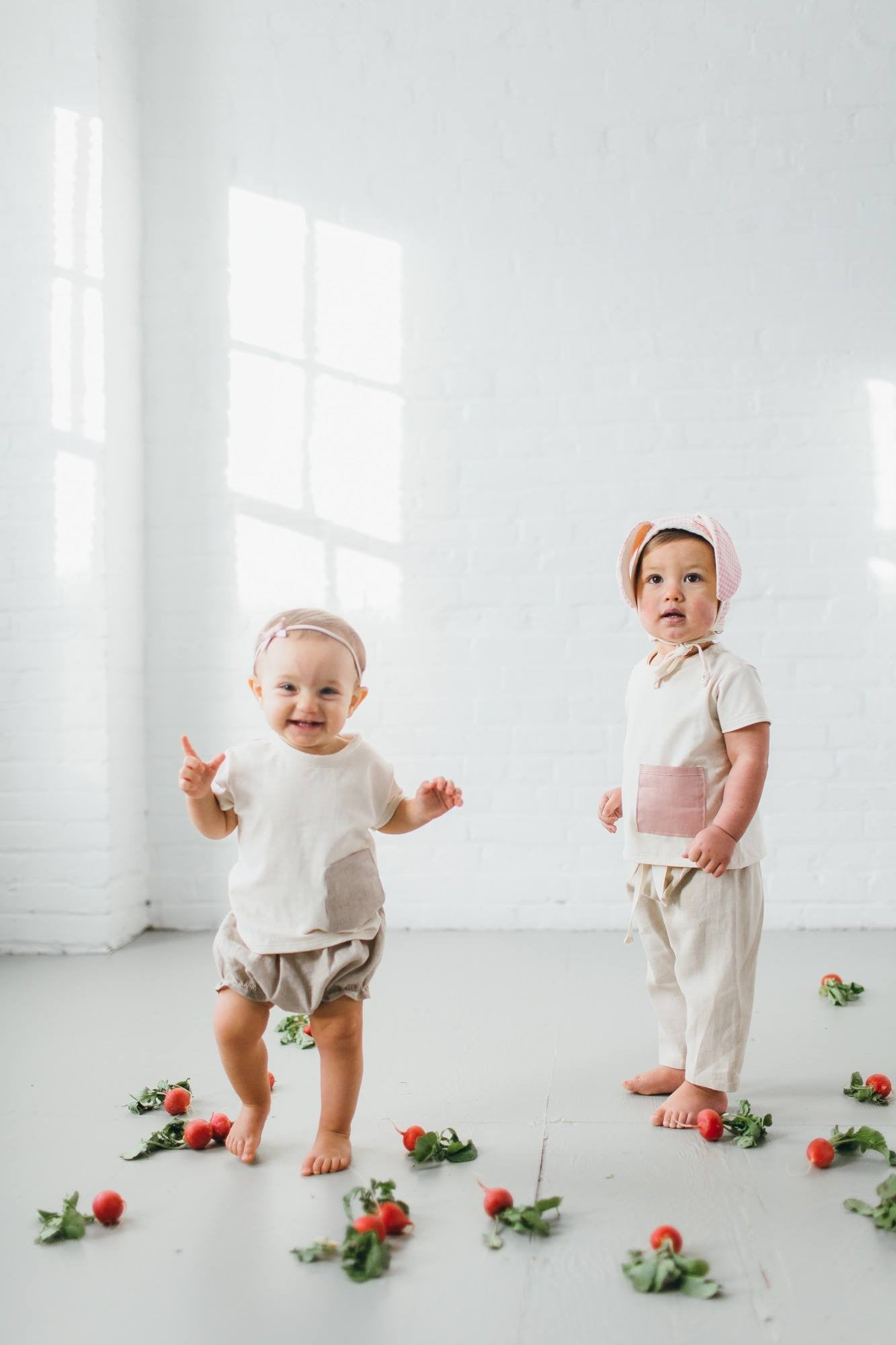 Clasic Linen Bloomers - Natural
