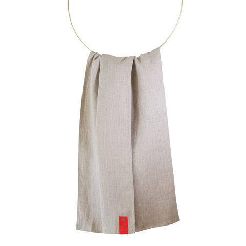 Sakura Bloom White Oak Double Layer Linen Ring Sling