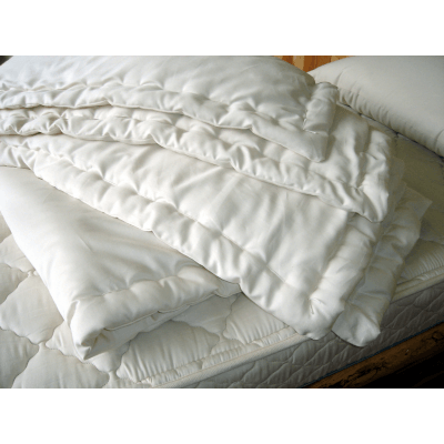 Holy Lamb Natural Wool Comforter - fawn&forest