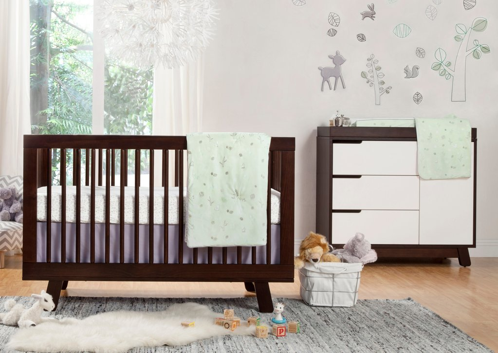 Babyletto Tranquil Woods 2-in-1 Play & Toddler Blanket