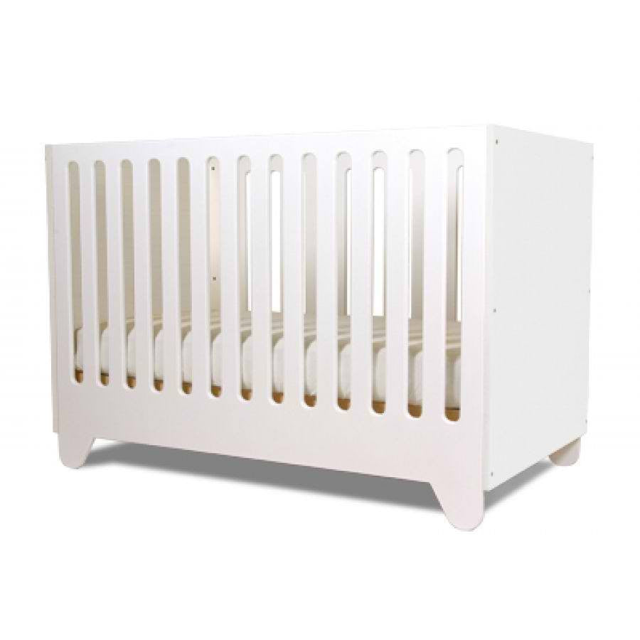 Spot on Square Hiya Crib - All White