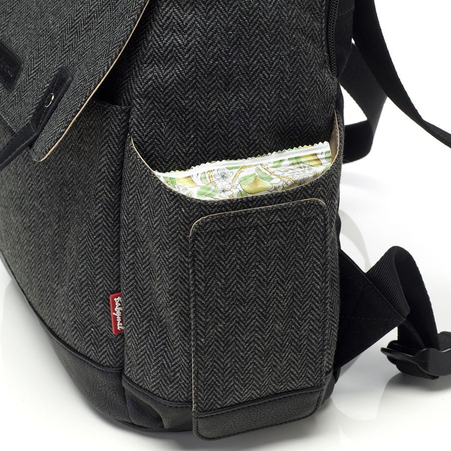 Babymel Robyn Convertible Backpack Tweed
