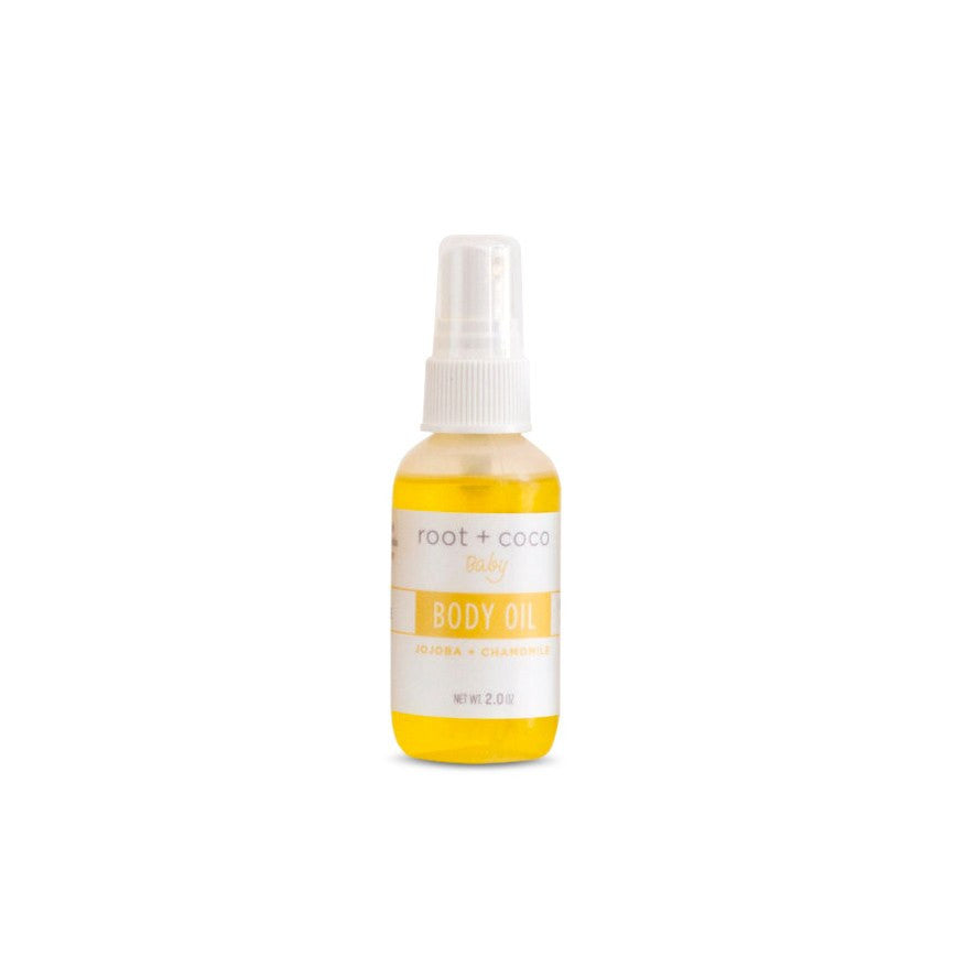 Root & Coco Root & Coco Baby Body Oil - fawn&forest