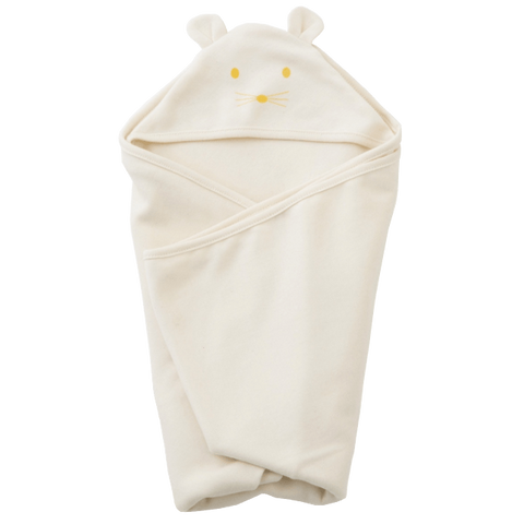 Fog Linen Hooded Swaddle Towel