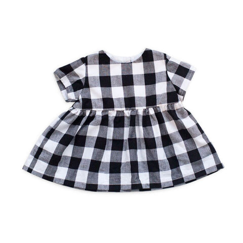 Tortoise & the Hare Black & White Gingham Blouse