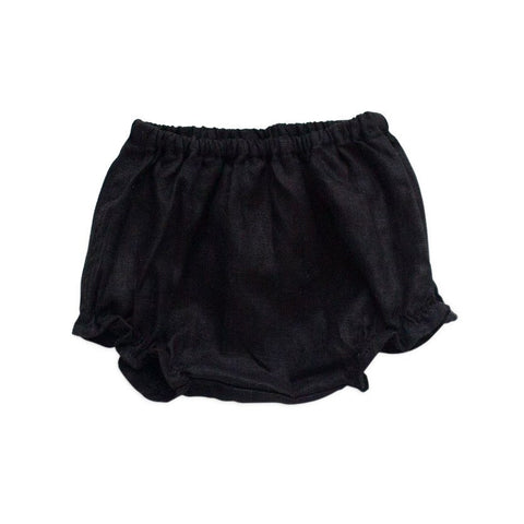 Tortoise & the Hare Classic Linen Bloomers - Black