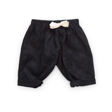 fawn&forest Tortoise & the Hare Linen Pants - Black - fawn&forest