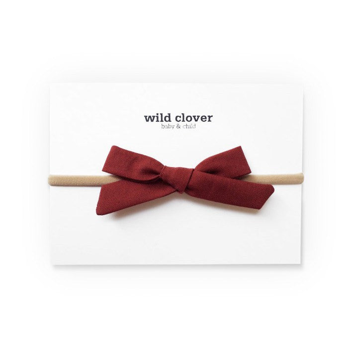 fawn&forest Schoolgirl Bow Headband - Coco - fawn&forest