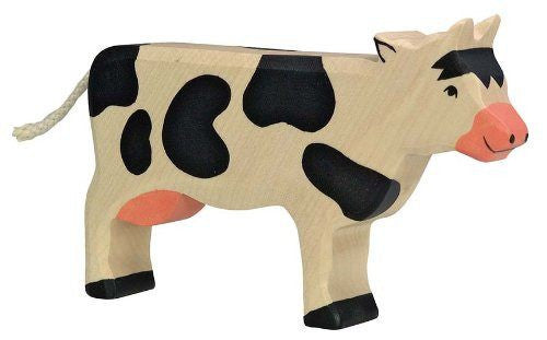 Wooden Holstein Cow