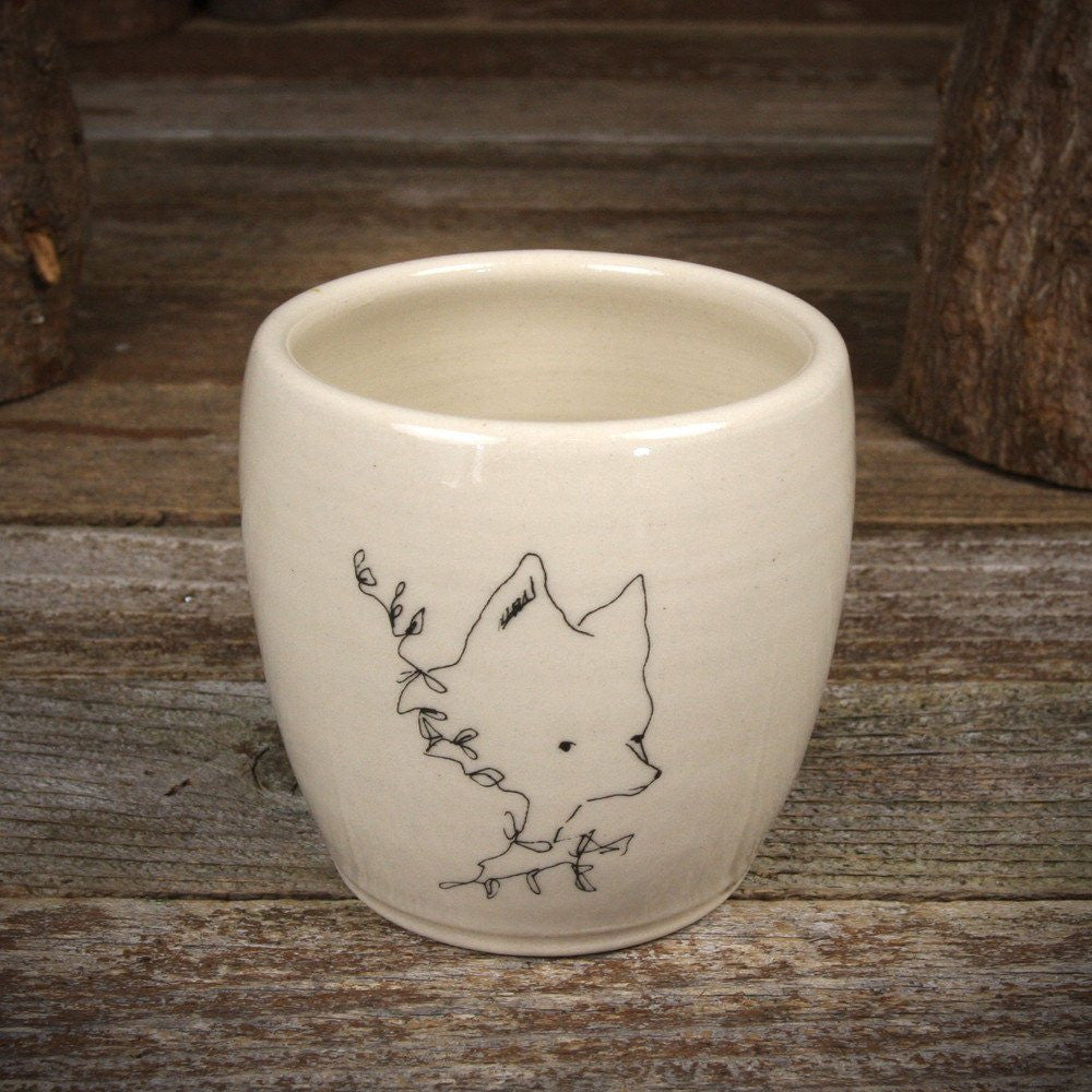 fawn&forest Kata Golda Ceramic Cup - fawn&forest