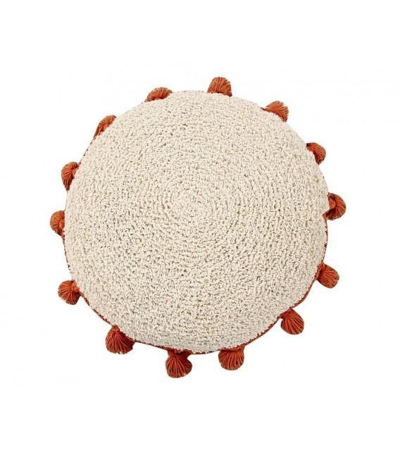 Lorena Canals Circle Cushion - TERRA COTTA - SALE