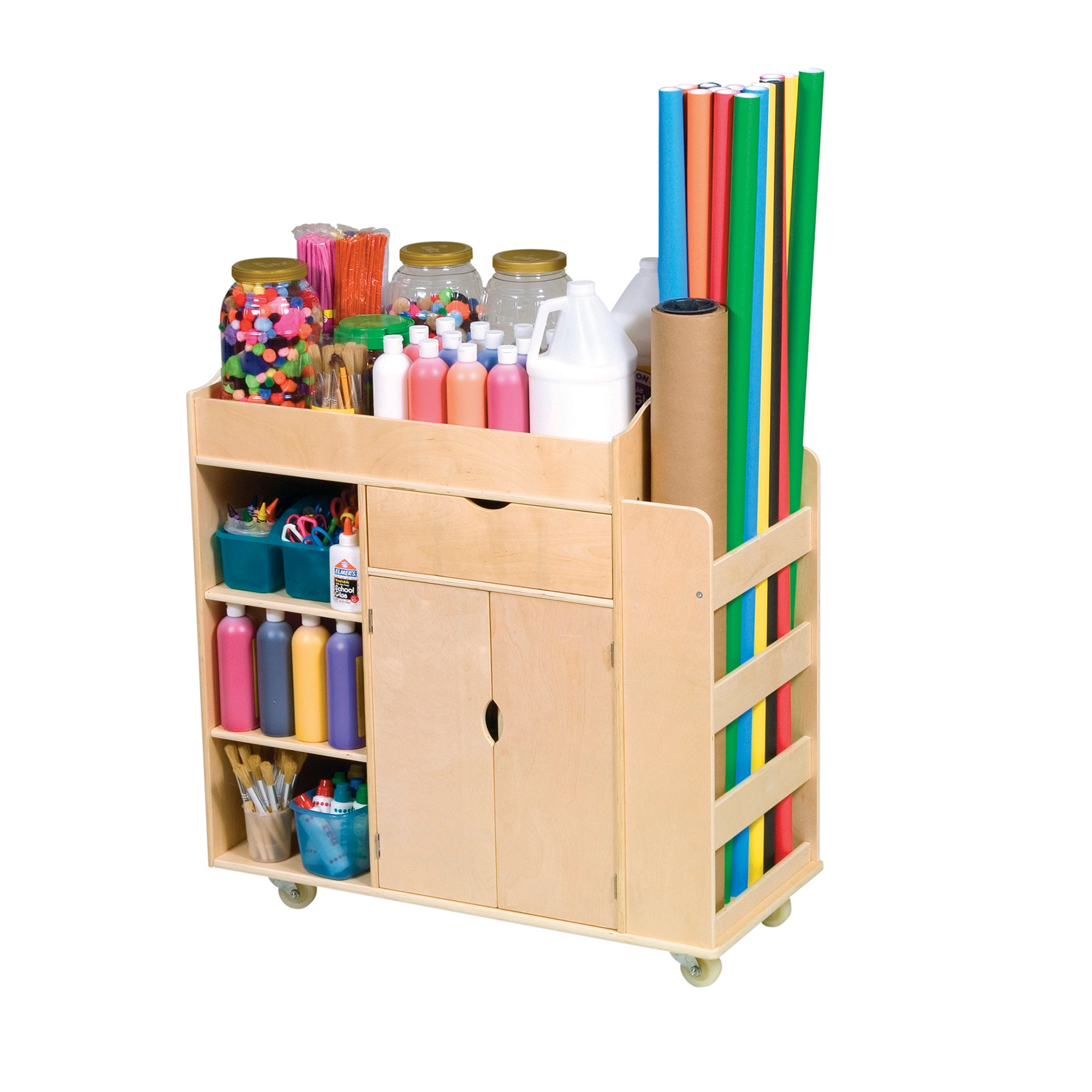 Guidecraft Art Activity Cart