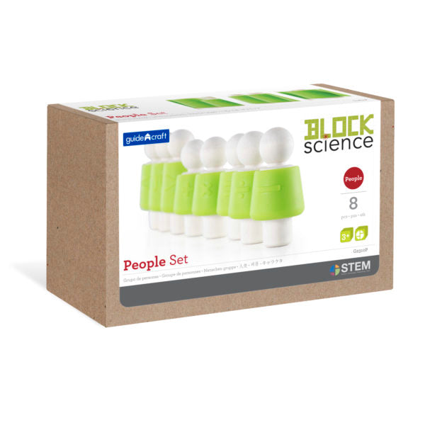 Guidecraft Block Science Foundation Set A