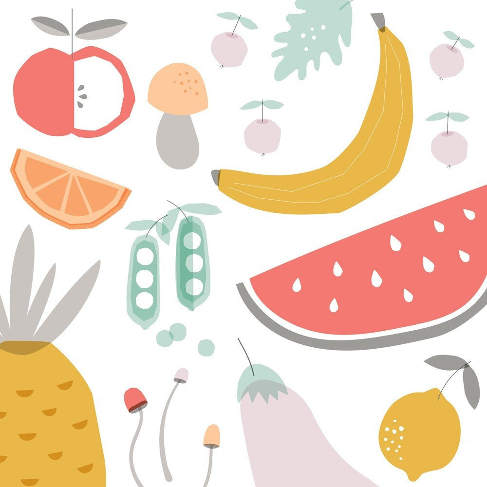 Fruit & Veggie Wall Decal