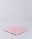 E & E Teepee: Pink Polar Bear Faux Fur Mattress