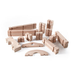 Guidecraft Eucalyptus Wood Notch Block Set - fawn&forest