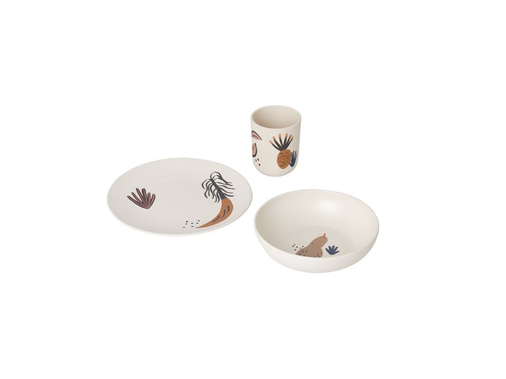 Ferm Living Kids Fruiticana Bamboo Dinner Set