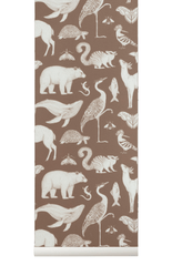 Ferm Living Kids Katie Scott Wallpaper - Animal