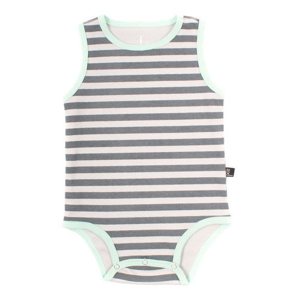 axl Organic Cotton Tank Bodysuit - fawn&forest