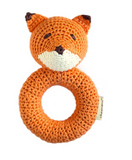 Hand Crocheted Cheengoo Fox Rattle