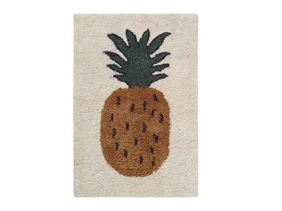 Ferm Living Kids Tufted Pineapple Rug