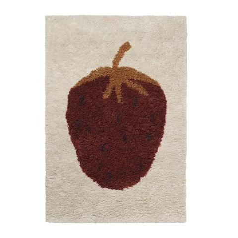 Ferm Living Kids Tufted Strawberry Rug