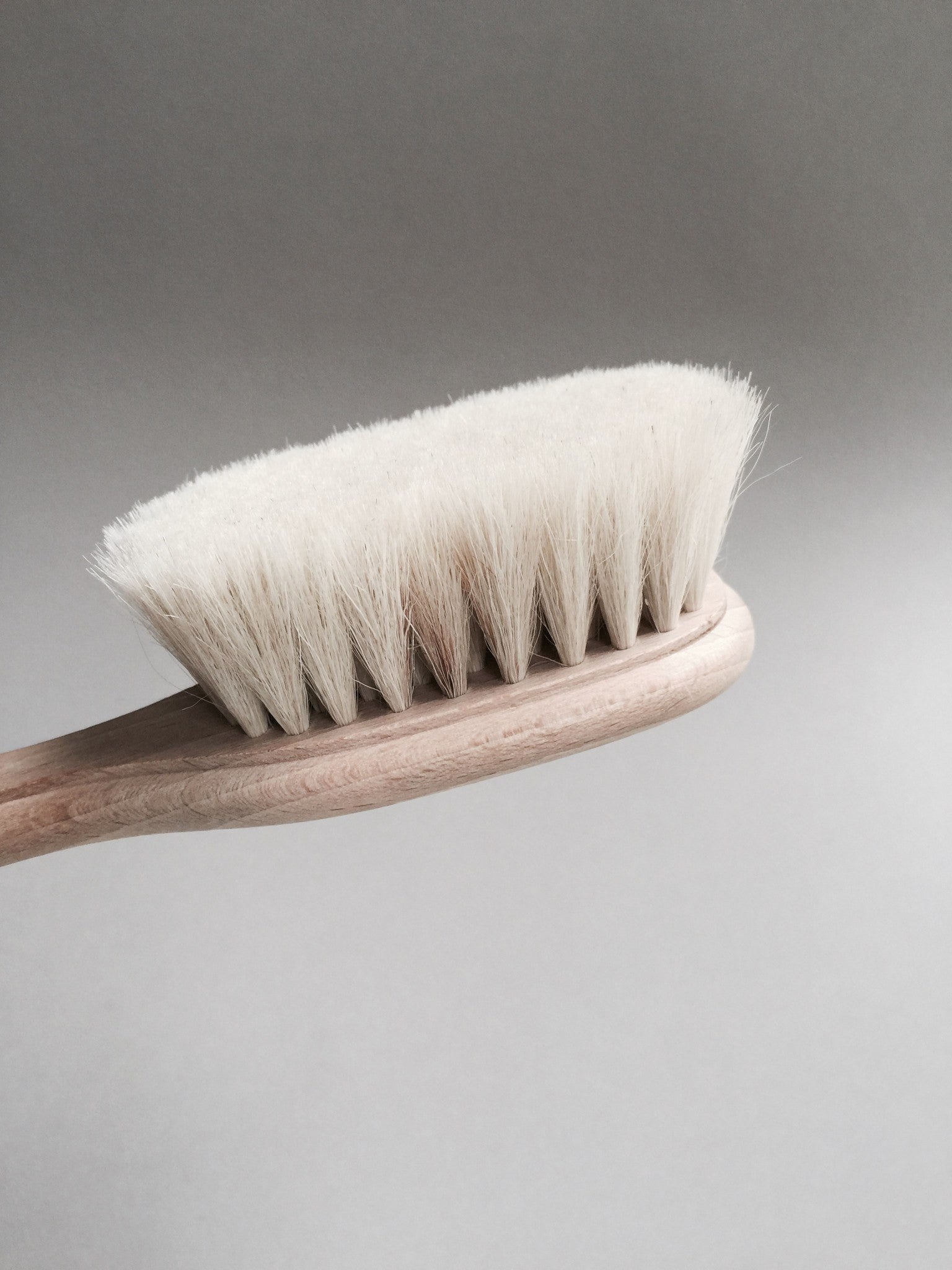 Heirloom Beech Wood Baby Hairbrush