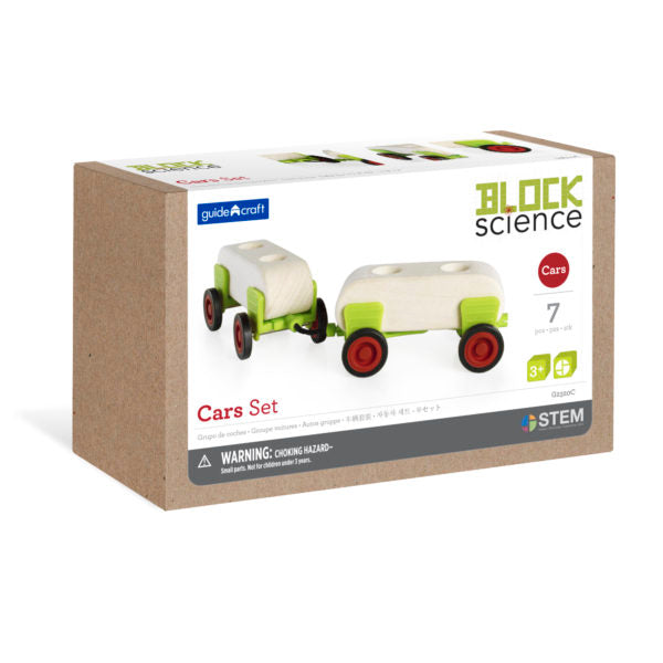 Guidecraft Block Science Foundation Set B