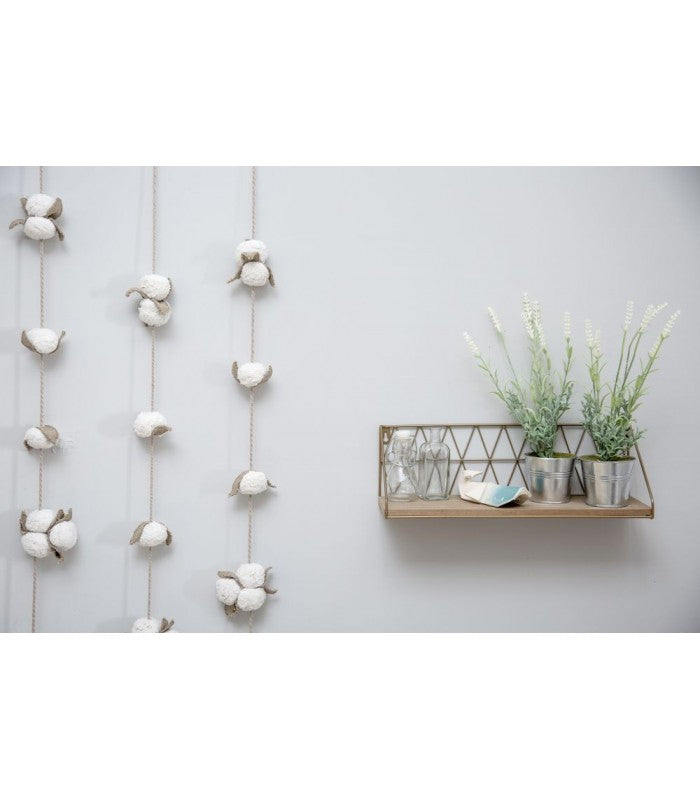 Lorena Canals Cotton Bolls Garland