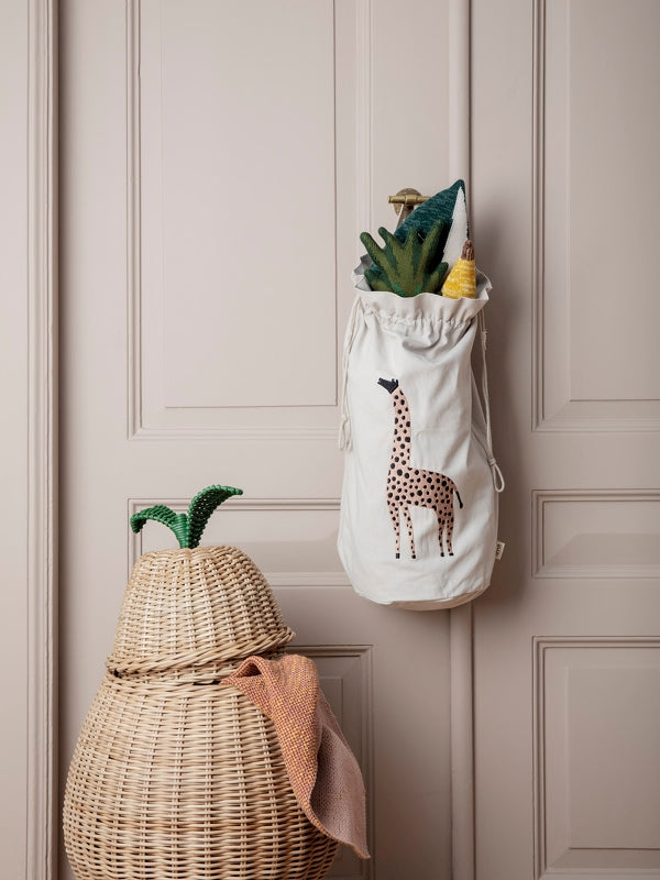 Ferm Living Kids Pear Braided Basket