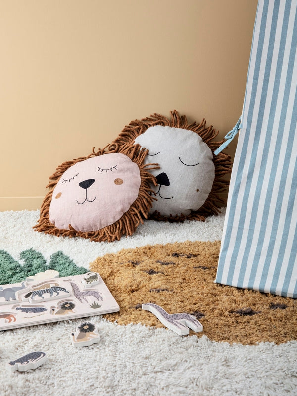 Ferm Living Kids Lion Safari Cushion