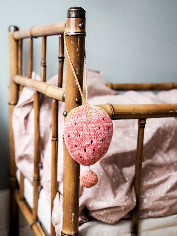 Ferm Living Kids Fruiticana Music Mobile - Strawberry