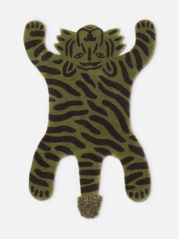 Ferm Living Kids Safari Tufted Rug - Tiger